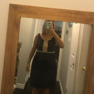 Lilly Pulitzer Rosie shift dress in navy
